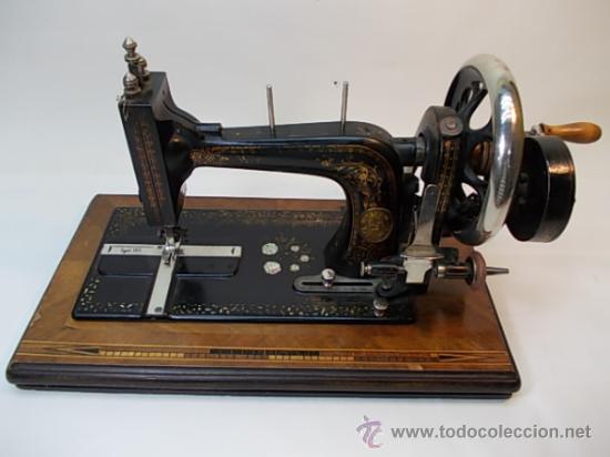 MÁQUINA DE COSER DE SOBREMESA WERTHEIM (Antigüedades - Técnicas - Máquinas de Coser Antiguas - Wertheim )