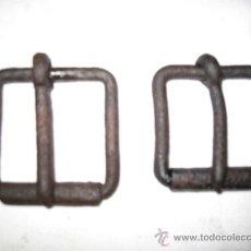 Antigüedades: LOTE DE DOS HEBILLAS METALICAS ANTIGUAS.. Lote 32950132