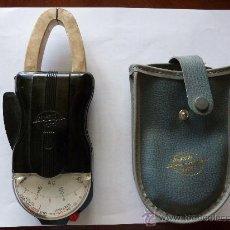 Antigüedades: TENAZA AMPERIMETRICA WESTON CLIPPER, TAMBIEN VOLTIMETRO. Lote 32955672