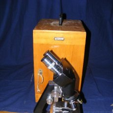 Antigüedades - Microscopio binocular Reichert - 32991947