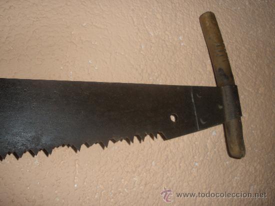 Gran sierra antigua para cortar arboles 1 07x0 comprar - Herramientas para cortar madera ...
