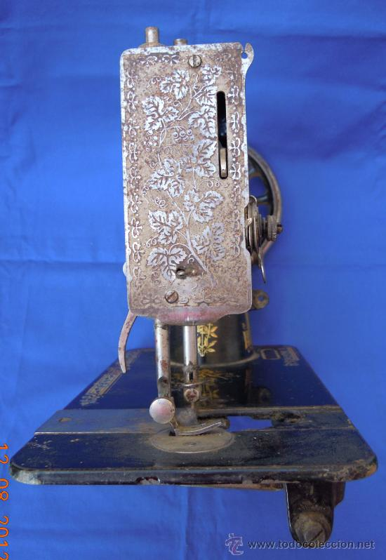 Antigüedades: Maquina de coser Singer - Foto 2 - 33055697