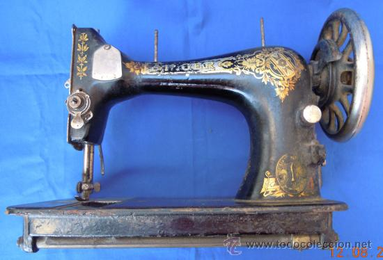 Antigüedades: Maquina de coser Singer - Foto 3 - 33055697