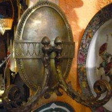 Antigüedades: APLIQUE DE BRONCE. Lote 33114188