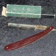 Antigüedades: ANTIGUA NAVAJA DE AFEITAR MARCA JOSE MONTSERRAT.. Lote 33237467