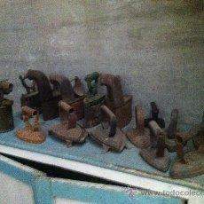 Antigüedades: PLANCHAS ANTIGUAS DE CARBON.. Lote 35230029