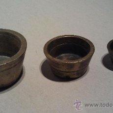 Antigüedades: PESO PONDERAL INCOMPLETO CON MARCAS.. Lote 33230297