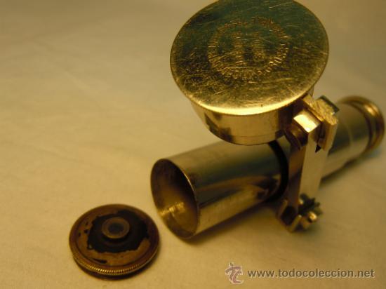 Antigüedades: MICROSCOPIO ANTIGUO DE VIAJE O BOLSILLO - Foto 2 - 54479344