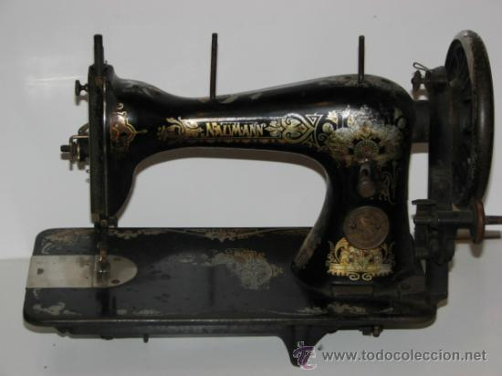 ANTIGUA MÁQUINA SEIDEL & NAUMANN (Antigüedades - Técnicas - Máquinas de Coser Antiguas - Otras)