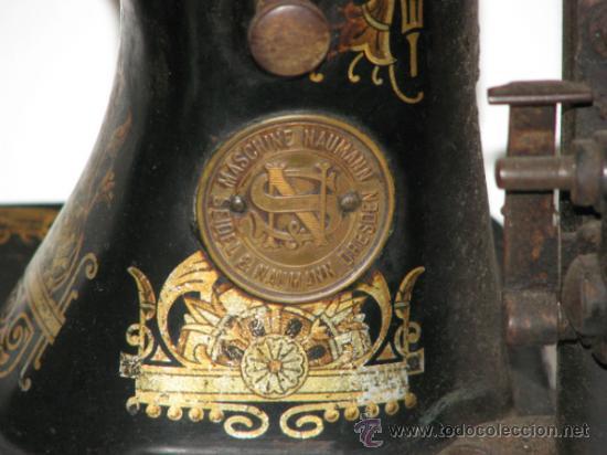 Antigüedades: ANTIGUA MÁQUINA SEIDEL & NAUMANN - Foto 8 - 33385630