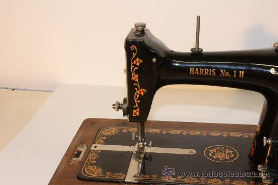 Antigüedades: MAQUINA DE COSER HARRIS Nº 1 - Foto 2 - 33376340