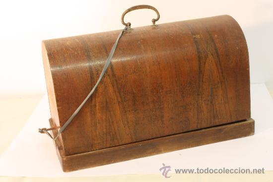 Antigüedades: MAQUINA DE COSER HARRIS Nº 1 - Foto 4 - 33376340