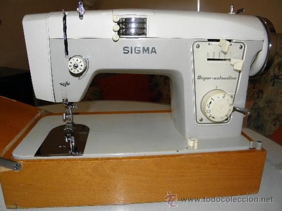 Antigüedades: MAQUINA DE COSER SIGMA - SUPER-AUTOMAT. (OCASION). (BUEN ESTADO). VER DESCRIP. Y FOTOS INTER/EXTER. - Foto 4 - 33397111
