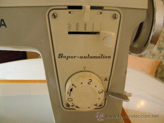 Antigüedades: MAQUINA DE COSER SIGMA - SUPER-AUTOMAT. (OCASION). (BUEN ESTADO). VER DESCRIP. Y FOTOS INTER/EXTER. - Foto 20 - 33397111
