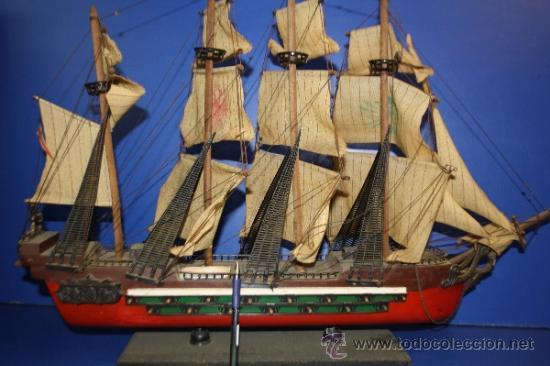 Lote de maquetas de barcos comprar antig edades marinas - Antiguedades de barcos ...
