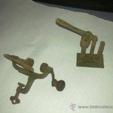 Antigüedades: UENCILIOS PARA GARGAR CARTUCHOS. Lote 33445304