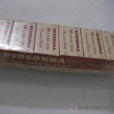 Antiquitäten - LOTE DE ANTIGUAS HOJILLAS PERSONNA GRAN BRETAÑA (12 CAJITAS CON 10 UNIDADES CADA UNA) TOTAL 120 HOJI - 33457344
