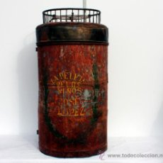 Antigüedades: BARQUILLERO ANTIGUO 84 CM. Lote 33591940