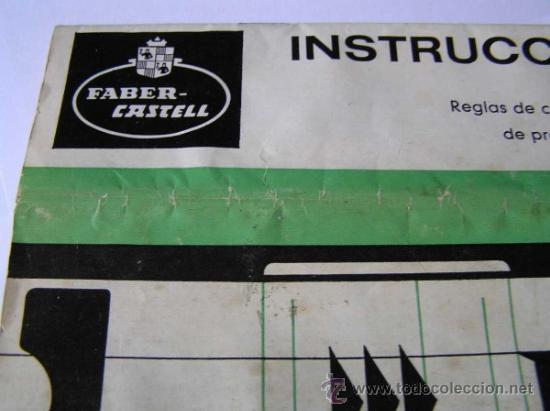 Antigüedades: INSTRUCCIONES REGLA DE CALCULO DE PRECISION NOVO-BIPLEX No. 2/83 62/83 SLIDE RULE RECHENSCHIEBER - Foto 3 - 33570762