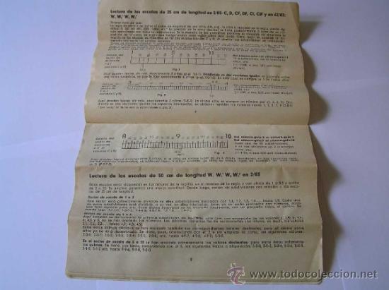 Antigüedades: INSTRUCCIONES REGLA DE CALCULO DE PRECISION NOVO-BIPLEX No. 2/83 62/83 SLIDE RULE RECHENSCHIEBER - Foto 13 - 33570762