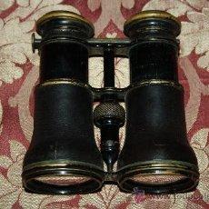 Antigüedades: BELLOS PRISMÁTICOS DEL S.XIX EN CUERO Y METAL - 'THEATRE, CAMPAGNE, MARINE' SISTEMA INTERCAMBIABLE. Lote 33606022