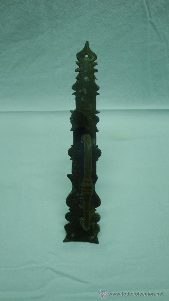 Antigüedades: MANILLA DE PUERTA EN FORJA, SIGLO XVII - Foto 3 - 109552927