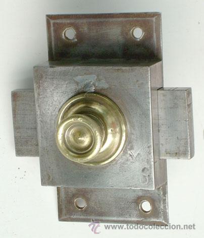 ANTIGUO CERROJO, ABRIDOR GRANDE (Antigüedades - Técnicas - Cerrajería y Forja - Cerraduras Antiguas)