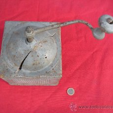 Antigüedades: ANTIGUO MOLINILLO DE CAFÉ GRAN TAMAÑO.. Lote 33671718