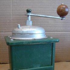 Antigüedades: ANTIGUO MOLINILLO DE CAFE MADERA - 12X18 CMS -. Lote 33693580