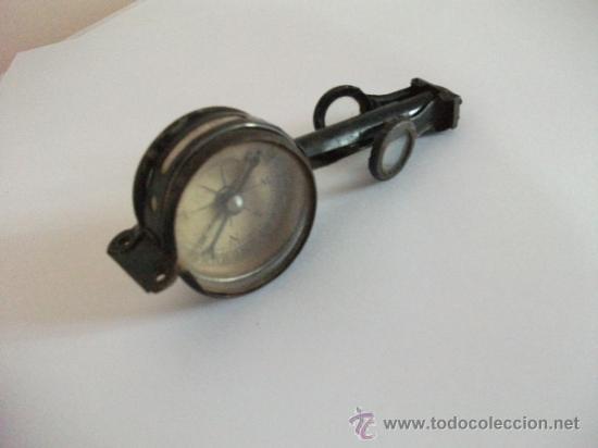 Antigüedades: Binoculares con brújula y espejo - Alemania - Completos y enteros WWI - Foto 7 - 33742413