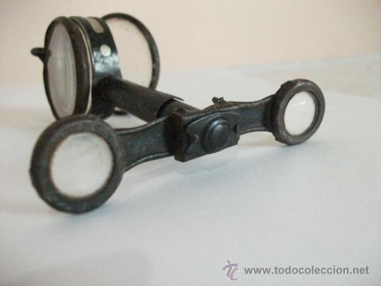 Antigüedades: Binoculares con brújula y espejo - Alemania - Completos y enteros WWI - Foto 2 - 33742413