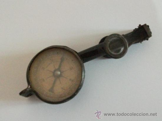 Antigüedades: Binoculares con brújula y espejo - Alemania - Completos y enteros WWI - Foto 4 - 33742413