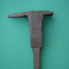Antigüedades: YUNQUE ANTIGUO EN FORJA -S. XVIII, PARA TRABAJOS DE PRECISIÓN (RELOJERO, PLATERO...). 475 GRS.. Lote 33784166