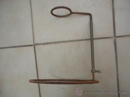 Antigüedades: soporte antiguo de laboratorio, graduable en altura - Foto 2 - 33777442