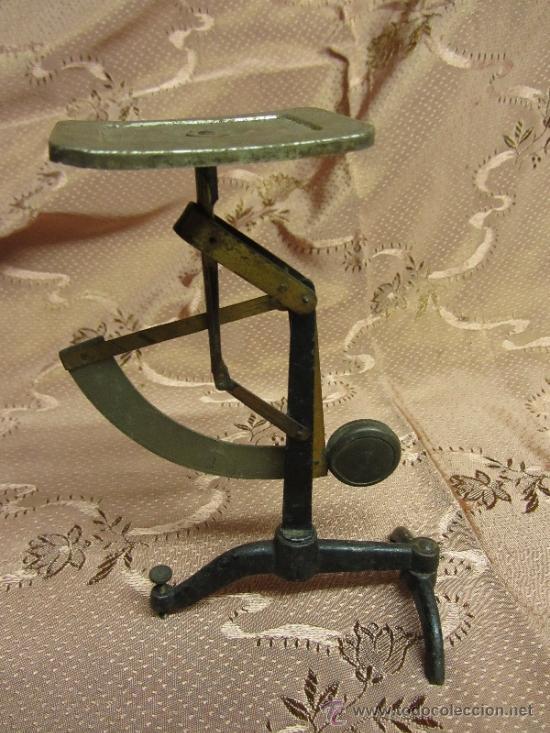 Antigüedades: Balanza de sobremesa milimétrica / Circa 1900 - Foto 4 - 33850331
