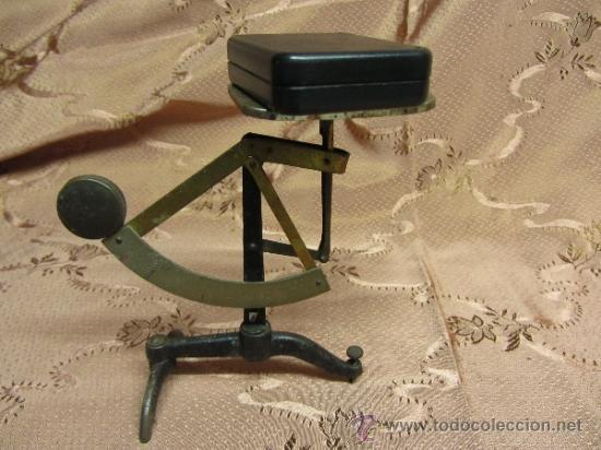 Antigüedades: Balanza de sobremesa milimétrica / Circa 1900 - Foto 5 - 33850331