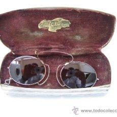 Antigüedades: GAFAS ANTIGUAS DE SOL EN COLOR MARRON. Lote 33851909