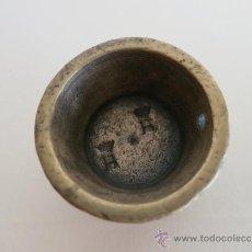 Antigüedades: PESA PONDERAL DE VASO ANIDADO CON MARCAS DOBLES. Lote 33980788