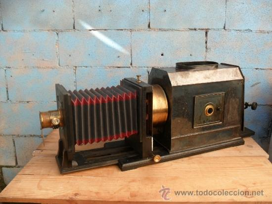 Antigüedades: enorme linterna magica con fotos cristal,funciona,mirala hay muchas fotos - Foto 4 - 33985804