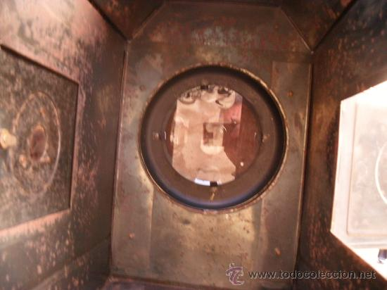 Antigüedades: enorme linterna magica con fotos cristal,funciona,mirala hay muchas fotos - Foto 12 - 33985804