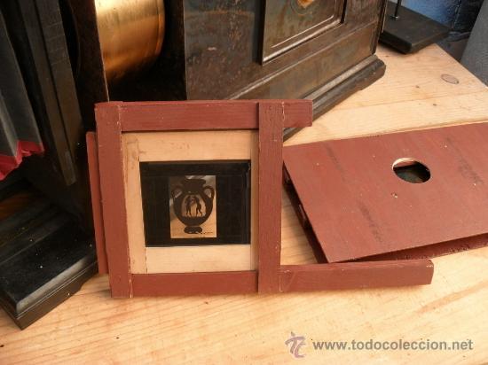Antigüedades: enorme linterna magica con fotos cristal,funciona,mirala hay muchas fotos - Foto 6 - 33985804