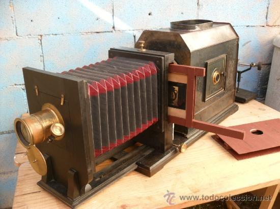 Antigüedades: enorme linterna magica con fotos cristal,funciona,mirala hay muchas fotos - Foto 5 - 33985804