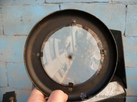 Antigüedades: enorme linterna magica con fotos cristal,funciona,mirala hay muchas fotos - Foto 17 - 33985804