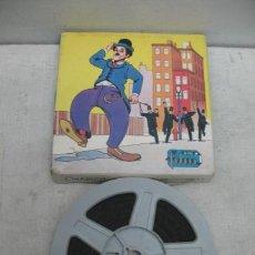 Antigüedades: MINI FILM - PELÍCULA DE CHARLOT LA STRADA DEL TERRORE SUPER 8. Lote 34015484