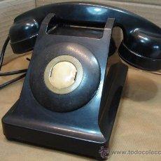 Teléfonos: TELEFONO DIRECTO BAQUELITA - SIN DISCO - PTT BURGUNDER - PARIS 1959 - TERMINAL . Lote 34054862