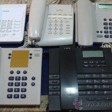 Teléfonos: -LOTE TELEFONOS:SIEMENS(EUROSET2005)(EUROSET2015)ALCATEL(TEMPORIS170)(2412)SPIKER. Lote 34072877