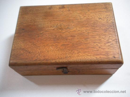Antigüedades: antiguo Juego de pesas de precision, completo - Foto 4 - 34077127