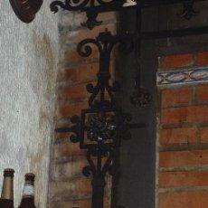 Antigüedades: REJA MODERNISTA SIGLO XIX,PARA HUECO DE VENTANA.. Lote 34095462