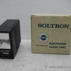 Antigüedades: SOLTRON 133 - ELECTRONIC FLASH UNIT. Lote 34098401
