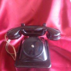 Teléfonos: TELEFONO FRANCES EN BAQUELITA, EXCELENTE ESTADO (VER FOTOS). Lote 34104278